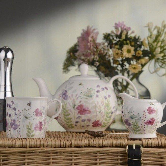 Dzbanek DMD ceramiczny do zaparzania herbaty 1l