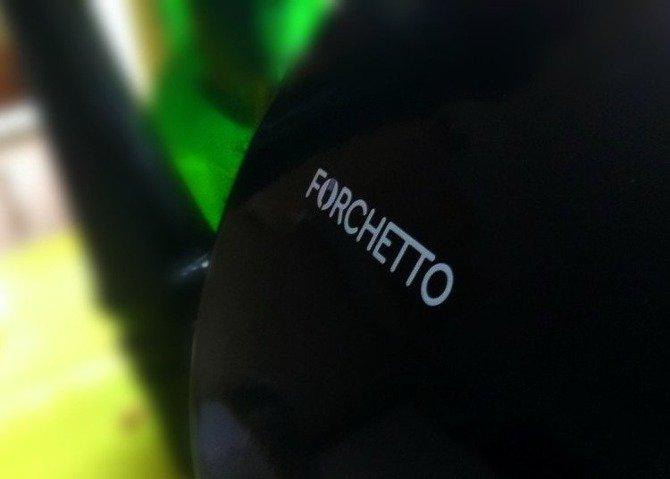 Czajnik emaliowany Forchetto Luna Nero 2,5l czarny