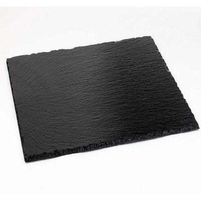 Deska kamienna 25x25 czarna łupkowa