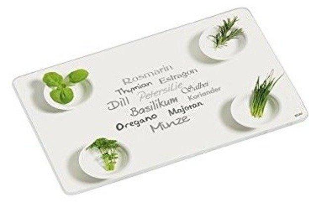 Deska szklana KESPER 30 x 20 - zioła