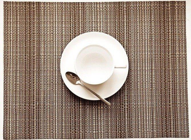 Duża mata kuchenna Granchio 36 x 48 cm brązowa