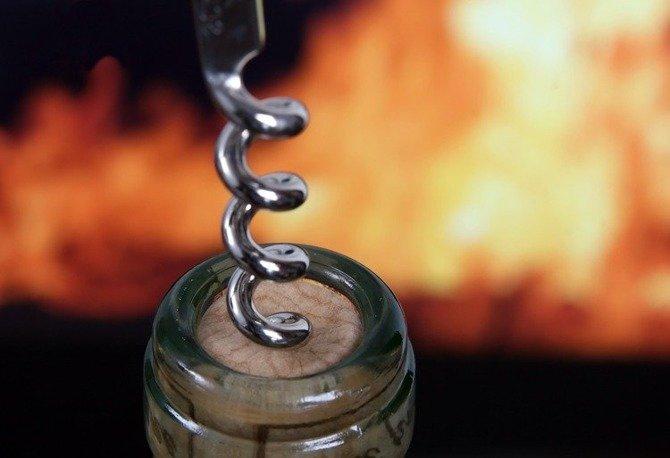 Korkociąg / otwieracz  do wina ze stali nierdzewnej VINZER