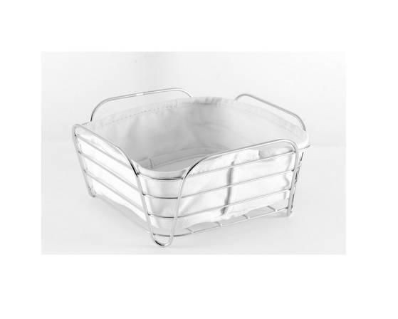 Koszyk na pieczywo biały GIPFEL 20x20x10cm