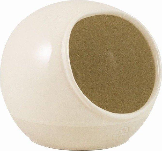 OUTLET Pojemnik ceramiczny na sól Artisan kremowy solniczka
