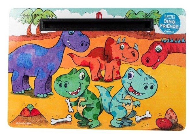 Podstawka na smartfon / tablet laptop z poduszką na kolana dla dzieci DMD Dinos