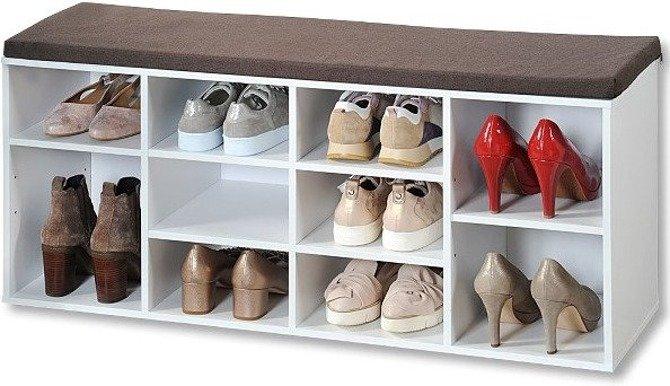 Szafka na buty Kesper z siedziskiem 103,5x29,5x48cm