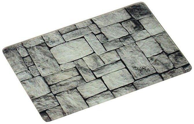 Szklana deska do krojenia 40x30 / Deska szklana motyw kamienia KESPER