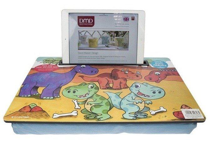 Taca  z poduszką na kolana dla dzieci DMD Dinos