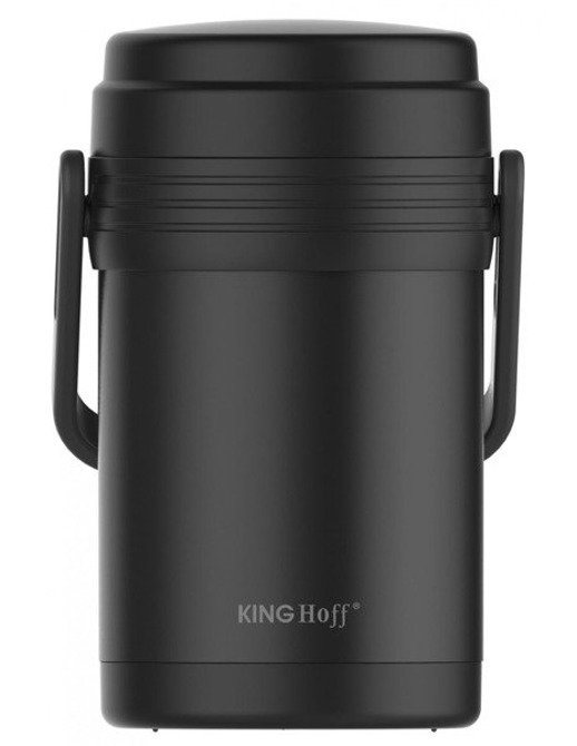 Termos obiadowy lunchowy 1,5l Kinghoff 3 pojemniki